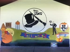 Ted Lewis mural